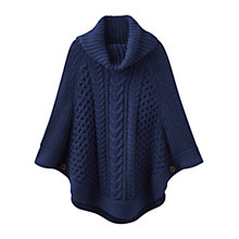 Buy Joules Capability Poncho Online at johnlewis.com