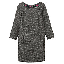 Buy Joules Esther Textured Dress, Black Online at johnlewis.com