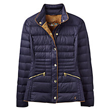 Buy Joules Warmheart Down Filled Jacket, Marine Navy Online at johnlewis.com