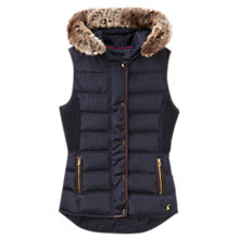 Buy Joules Eskdale Fitted Gilet, Marine Navy Online at johnlewis.com
