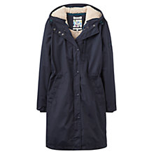 Buy Joules Stormaway Waterproof Parka, Marine Navy Online at johnlewis.com