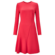Buy BOSS Ditanea1 Panel Dress, Raspberry Online at johnlewis.com