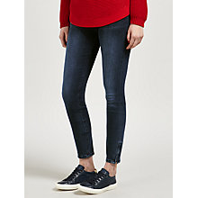 Buy BOSS Orange J10 Mid Rise Skinny Jeans, Deep Blue Online at johnlewis.com