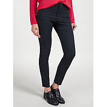 Buy BOSS Orange Sobina Jacquard Jeggings, Navy Online at johnlewis.com