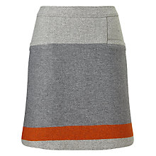 Buy BOSS Orange Bastra Stripe Detail Skirt, Grey Online at johnlewis.com