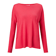 Buy BOSS Fay Wool Jumper, Raspberry Online at johnlewis.com