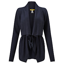 Buy BOSS Orange Ivettyl Wrap Cardigan, Navy Online at johnlewis.com