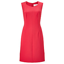 Buy BOSS Dilunea Panel Shift Dress, Raspberry Online at johnlewis.com