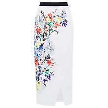 Buy Coast Raiya Print Pencil Skirt, Multi Online at johnlewis.com