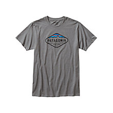 Buy Patagonia Fitz Roy Crest T-Shirt, Narwhal Grey Online at johnlewis.com