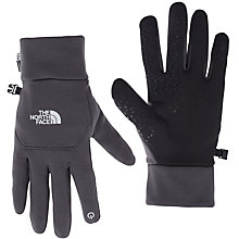 Buy The North Face Etip Gloves, Grey Online at johnlewis.com