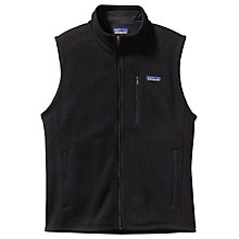 Buy Patagonia Better Sweater Men's Fleece Jacket, Black Online at johnlewis.com