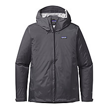 Buy Patagonia Torrentshell Waterproof Men's Jacket, Forge Grey Online at johnlewis.com