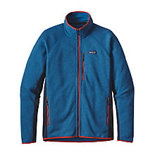 Buy Patagonia Better Sweater Men's Fleece Jacket, Bandana Blue Online at johnlewis.com