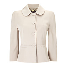 Buy Phase Eight Darlene Jacket, Pearl Online at johnlewis.com