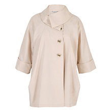 Buy Chesca Large Collar Coat, Beige Online at johnlewis.com