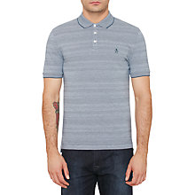Buy Original Penguin Novely Jacquard Polo Shirt Online at johnlewis.com