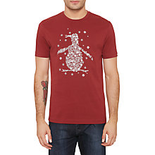 Buy Original Penguin Snowflake Graphic T-Shirt Online at johnlewis.com