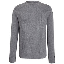 Buy Original Penguin Cable Knit Jumper, Griffin Online at johnlewis.com