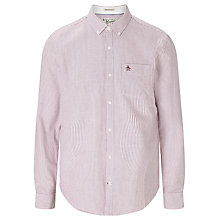 Buy Original Penguin Oxford Stripe Long Sleeve Shirt Online at johnlewis.com