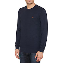 Buy Original Penguin Basket Weave Merino Wool Jumper Online at johnlewis.com