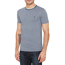 Buy Original Penguin Mouline Striped T-Shirt Online at johnlewis.com