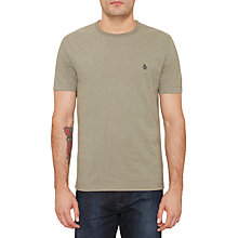 Buy Original Penguin  Heather T-Shirt, Dusty Olive Heather Online at johnlewis.com