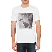 Buy Original Penguin Spotlight Pete T-Shirt, Bright White Online at johnlewis.com