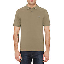 Buy Original Penguin Winston Polo Shirt, Dusty Olive Online at johnlewis.com
