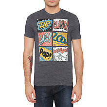 Buy Original Penguin Comic Book T-shirt, Dark Sapphire Online at johnlewis.com