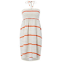 Buy White Stuff Lila Striped Beach Throw Over Dress, Multi Online at johnlewis.com