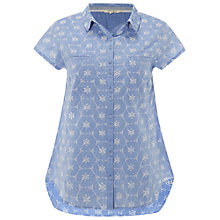 Buy White Stuff Floretta Shirt, Denim Online at johnlewis.com