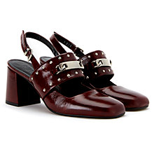 Buy Finery Claybrook Sling Back Court Shoes Online at johnlewis.com