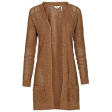 Buy Fat Face Open Stitch Cardigan, Barley Twist Online at johnlewis.com