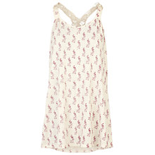 Buy Fat Face Wentworth Peacock Cami Top, Ivory Online at johnlewis.com