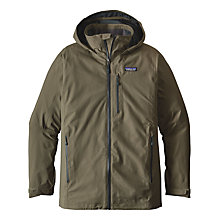 Buy Patagonia Windsweep Men's Jacket, Industrial Green Online at johnlewis.com