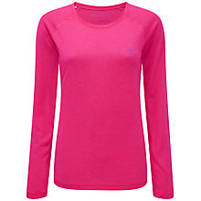 Buy Ronhill Vizmotion Long Sleeve Running Top, Fluorescent Pink Online at johnlewis.com