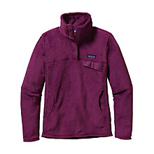Buy Patagonia Retool Pullover, Violet Red Online at johnlewis.com
