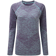 Buy Ronhill Aspiration Long Sleeve Running Top, Elderberry/Peppermint Online at johnlewis.com