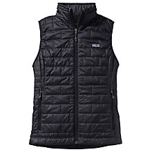 Buy Patagonia Nano Puff Women's Gilet, Black Online at johnlewis.com