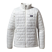Buy Patagonia Nano Puff Insulated Women's Jacket, Birch White Online at johnlewis.com