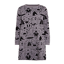 Buy Donna Wilson for John Lewis Sweatshirt Dress, Grey Online at johnlewis.com
