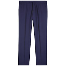Buy Jaeger Puppytooth Double Breasted Classic Suit Trousers, Blue Online at johnlewis.com