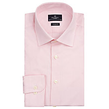 Buy Hackett London Dobby Micro Dot Shirt, Light Pink Online at johnlewis.com