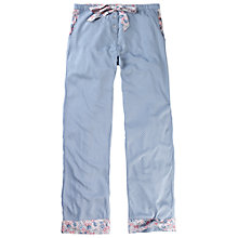 Buy Fat Face Bossiney Floral Pyjama Bottoms, Chambray Online at johnlewis.com