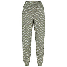 Buy Fat Face Batik Printed Trousers, Khaki Online at johnlewis.com