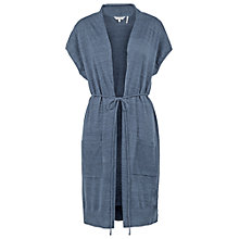 Buy Fat Face Kimono Cardigan, Chambray Online at johnlewis.com