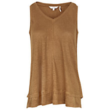 Buy Fat Face Polperro Tank Top, Demerara Online at johnlewis.com