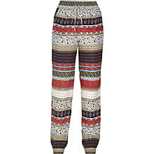 Buy Fat Face Printed Trousers Patchwork, Multi Online at johnlewis.com