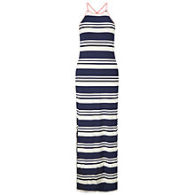 Buy Miss Selfridge Striped Maxi Dress, Multi Online at johnlewis.com